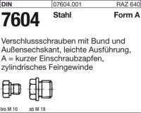 Verschlußschrauben AM30x1,5