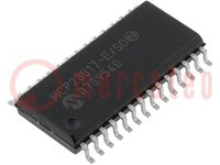 IC: expander; 16bit I/O port; I2C; SO28; 1,8÷5,5VCC