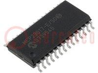 IC: expander; 16bit I/O port; I2C; SO28; 1,8÷5,5VDC