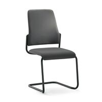 Bezoekersstoel GOAL, sledestoel, VE = 2 stuks
