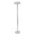 ALBA Lampadaire Fluorescent coloris Noir, finition glossy. Hauteur 185 cm.