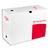 5 ETOILES Bo�te archives dos 20 cm. Montage automatique. Carton blanc.