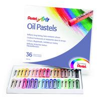 Oil Pastels - Ölpastellkreiden PHN4, hohe Deckkraft, Set mit 36 Stück Bild 1