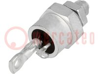 Stud thyristor; 1.2kV; 120A; TO208AC; Structure: anode stud
