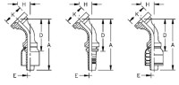 AEROQUIP 1A20FLA24