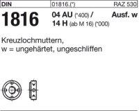 Kreuzlochmuttern M18x1,5