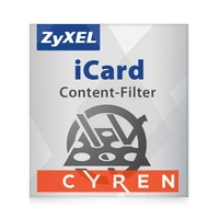 Zyxel E-iCard 2-year Cyren Content filtering for ZYWALL 110 & USG110