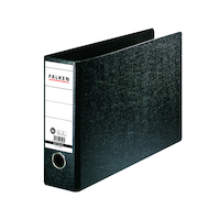 Ordner A4 quer N80 , Hartpappe, 80 mm, schwarz
