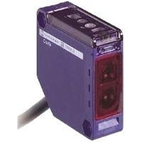 Telemecanique LED rot Optischer Näherungsschalter kubisch, Messbereich 5 m, PNP, Halbleiterrelais Ausgang, Kabel