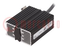 Semiconductor heater; HGK 047; 20W; 120÷240V; IP54