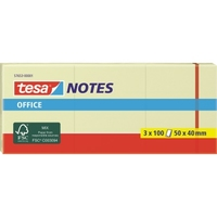 tesa Haftnotiz Office Notes 57653-00001 50x40mm ge 3 St./Pack.