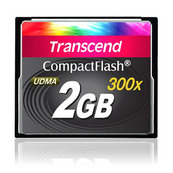 Transcend 2GB 300x CompactFlash Speicherkarte Kompaktflash