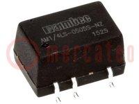 Omvormer: DC/DC; 0,25W; Uin:2,97÷3,63V; Uuit:5VDC; Iuit:50mA; SMD