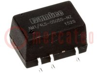 Omvormer: DC/DC; 0,25W; Uin:4,5÷5,5V; Uuit:3,3VDC; Iuit:76mA; SMD