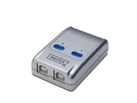 Digitus® USB 2.0 Share Switch, 2-fach, hot key