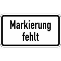 Modellbeispiel: VZ Nr. 2113, (Markierung fehlt)