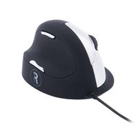 R-Go Tools R-Go HE Break Mouse, Ergonomische muis, Anti-RSI software, Groot (Handlengte boven 185mm), Linkshandig, Bedraad