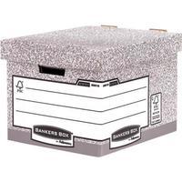 Fellowes Bankers Box Heavy Duty Standard Storage Box Ref 0081801 [Pack 10]