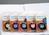 LetraTag Schriftband, Kunststoff, laminiert, 4 m x 12 mm, Schwarz/Grün