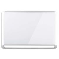 BI-OFFICE Tableau Blanc Mastervision surface en acier émaillée, magnétique, auget, Format : L120 x H90 cm
