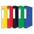 ELBA Boîte de classement EUROFOLIO carte lustrée, dos 4 cm, fermeture élastique, 24x32 cm, assortis