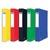 ELBA Bo�te de classement EUROFOLIO carte lustr�e, dos 4 cm, fermeture �lastique, 24x32 cm, assortis