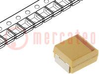 Kondensator: Tantal; 4,7uF; 16VDC; SMD; Geh: B; 1210; ±10%; -55÷125°C
