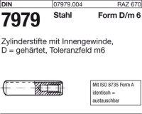 DIN7979 Stahl gehärtet 8 mm m 6 x 32 mm