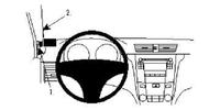 Brodit Fahrzeughalter ProClip für Suzuki Kizashi 10-15