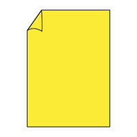 Paperado Blatt A4 100g/m², Soleilgelb / A4 (297 x 210mm)