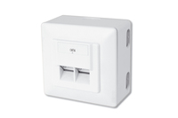 DIGITUS CAT 6 modular wall outlet, shielded