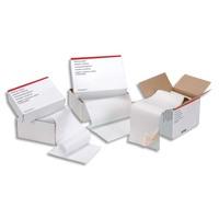 5 ETOILES Boîte de 2000 paravents listing format 380x11'' 1 exemplaire blanc 60 grammes bande caroll fixe