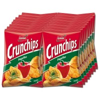 Lorenz Crunchips Paprika 50g,Chips, Snack, 16 Beutel