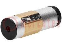 Szonométer kalibrátor; 50x127mm; 340g