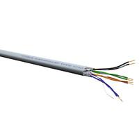 ROLINE FTP Kabel Kat. 5e, Litze, 100m