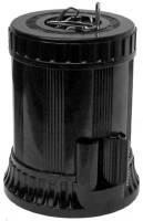 Büroklammernbox NOSTALGIE schwarz aus Bakelit® mit Klebefilmabroller