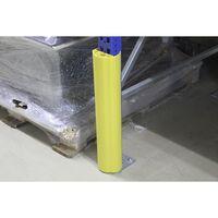 zum Aufstecken H/öhe 1000 mm Regalanfahrschutz f/ür Regalbeinbreite 75 100 mm