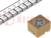 Trimmer: keramisch; 1,4pF÷3pF; SMD; bruin; 100VDC