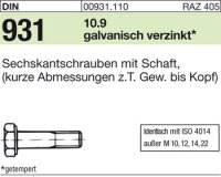DIN931 M12x50