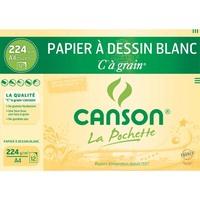 Pochette 12 feuilles CàGrain 224g format 21x29,7cm