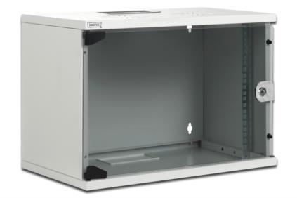 DIGITUS® SoHo fali szekrény Compact sorozat - 520 x 400 mm - DN-19 07U-S-1