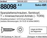 Spanplattenschrauben 5x60-T25