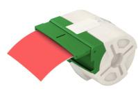 Endlos-Etikettenkassette Icon, permanent klebend, Plastik, 88mmx10m, rot