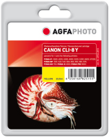 AgfaPhoto APCCLI8YD inktcartridge Geel 1 stuk(s)