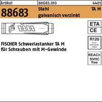 Art 88683 Fischer Schwerlastdubel St Galv Verzinkt Ta M 10 Ve S