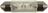 LED-Soffittenlampe 11x43mm 12-14VAC/DC ge 2Chip 35153