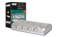 Digitus® USB 2.0 Share Switch, 4-fach