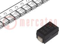 Kondensator: Tantal-Polymer; 1500uF; 2,5VDC; Geh: X; 2917; ESR:5mΩ