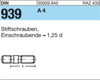 DIN939 A4 M6x30
