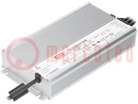 Alimentatore: a impulsi; LED; 600W; 48VDC; 12,5A; 90÷305VAC; IP67
